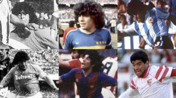 mejores momentos de Maradona