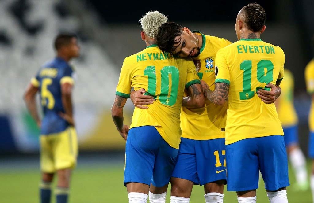 Brasil invicto