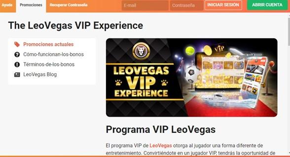 Promo LeoVegas