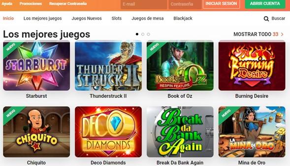 Games LeoVegas