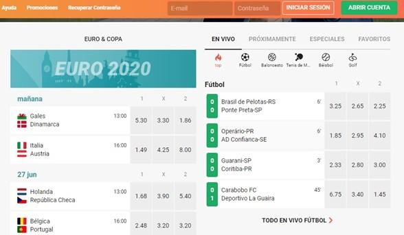 Euro2020 LeoVegas